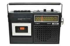Uitstekende cassettespeler Royalty-vrije Stock Foto's