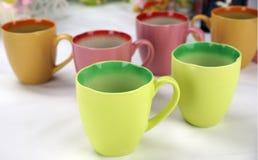 Uitstekende ceramische kop Royalty-vrije Stock Afbeelding