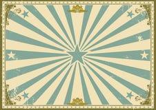 Uitstekende certificaat horizontale achtergrond royalty-vrije illustratie