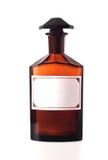 Uitstekende Chemische Fles Royalty-vrije Stock Afbeeldingen