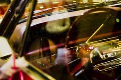 Uitstekende Chevrolet-Impalasnelheidsmeter Royalty-vrije Stock Afbeeldingen