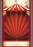 Uitstekende circusachtergrond Royalty-vrije Stock Foto