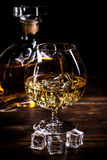 Uitstekende cognac stock foto