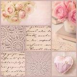 Uitstekende collage Royalty-vrije Stock Foto's