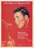 Uitstekende de Affichekaart van de V.S. Stock Fotografie