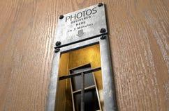 Uitstekende de Bestelwagengroef van de Fotocabine Stock Foto's
