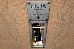 Uitstekende de Bestelwagengroef van de Fotocabine Stock Foto