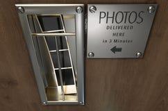 Uitstekende de Bestelwagengroef van de Fotocabine Royalty-vrije Stock Foto's