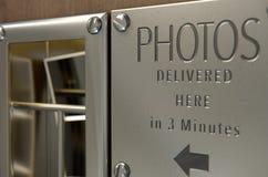 Uitstekende de Bestelwagengroef van de Fotocabine Stock Afbeeldingen