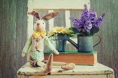 Uitstekende de lentedecoratie stock foto's