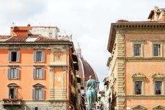 Uitstekende de straatmening van Italië Florence Firenze royalty-vrije stock foto