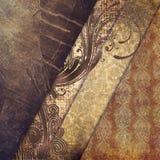 Uitstekende de textuurachtergrond van de kunst grunge Royalty-vrije Stock Fotografie