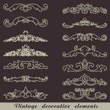 Uitstekende decoratieve elementen Royalty-vrije Stock Fotografie