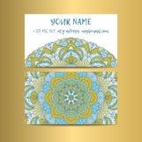 Uitstekende decoratieve elementen Corporatieve stijl, Vectorillustratie Sier Bloemen Royalty-vrije Stock Afbeelding