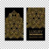 Uitstekende decoratieve elementen Corporatieve stijl, Vectorillustratie Sier Bloemen Stock Foto