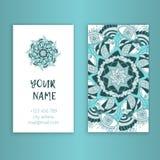 Uitstekende decoratieve elementen Corporatieve stijl, Vectorillustratie Sier Bloemen Stock Fotografie