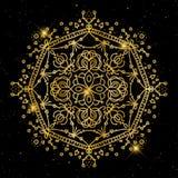 Uitstekende decoratieve elementen Corporatieve stijl, Vectorillustratie Sier Bloemen Oosters patroon, illustratie Islam, Arabisch Stock Foto's