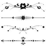 Uitstekende decoratieve ontwerpen Royalty-vrije Stock Afbeelding