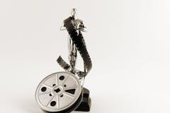 Uitstekende desaturated Oscar royalty-vrije stock foto's