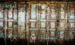 Uitstekende deur Stock Fotografie