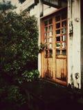 Uitstekende deur Royalty-vrije Stock Afbeelding