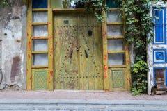 Uitstekende deur Royalty-vrije Stock Fotografie