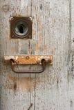 Uitstekende deur Stock Afbeeldingen