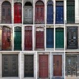 Uitstekende deuren Royalty-vrije Stock Foto