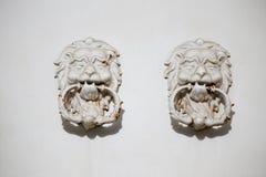 Uitstekende deurknoppen Stock Foto's