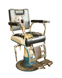 Oude kappersstoel Royalty-vrije Stock Afbeelding
