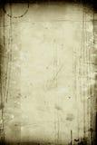 Uitstekende document olijfkleur Stock Fotografie