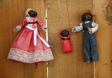Uitstekende Doll Cornhusk Royalty-vrije Stock Foto