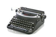 Uitstekende draagbare schrijfmachine Stock Afbeelding