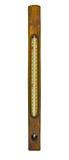Uitstekende drijvende thermometer Royalty-vrije Stock Foto