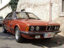 Uitstekende Duitse coupé, BMW 633 Stock Afbeelding