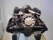 Uitstekende Duitse sportwagenmotor Royalty-vrije Stock Foto