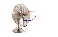 Uitstekende Elektrische Ventilator Stock Afbeeldingen