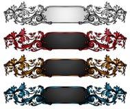 Uitstekende Elementen en Decoratie Stock Foto