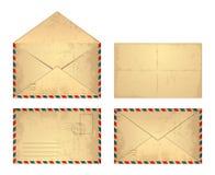 Uitstekende envelop Royalty-vrije Stock Afbeeldingen