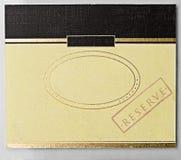 Uitstekende etiketten Royalty-vrije Stock Foto