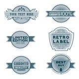 Uitstekende Etiketten Stock Afbeelding