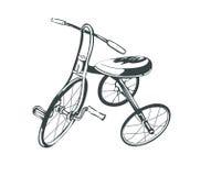 Uitstekende fiets Royalty-vrije Stock Afbeeldingen