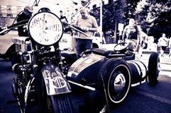 Uitstekende fietsen bij de Historische Grand Prix 2017 van Bergamo Royalty-vrije Stock Fotografie