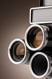 Uitstekende Filmcamera Stock Fotografie
