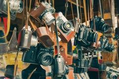 Uitstekende filmcamera's Stock Fotografie