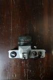 Uitstekende fotocamera Stock Afbeelding