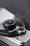 Uitstekende fotocamera Royalty-vrije Stock Afbeelding