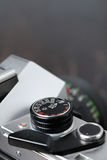 Uitstekende fotocamera Royalty-vrije Stock Fotografie