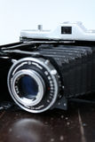 Uitstekende fotocamera Stock Foto's