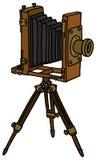 Uitstekende fotografische camera royalty-vrije illustratie